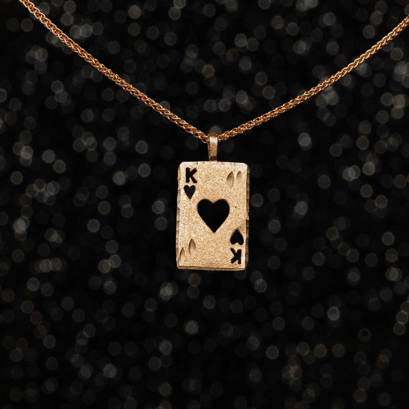 THE KING OF HEARTS CHARM