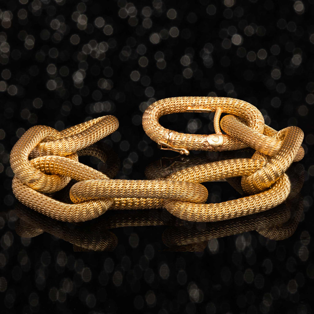 THE VINTAGE ITALIAN GOLD CHAIN BRACELET