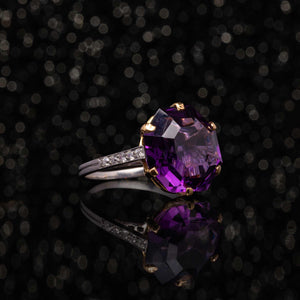 THE AMETHYST CANDY RING