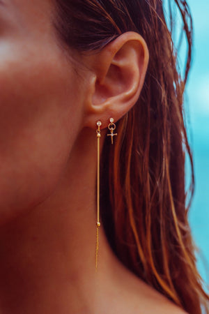THE WHIP EARRING - The Moonstoned