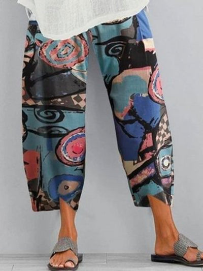 Women's Printed  Holiday Pants