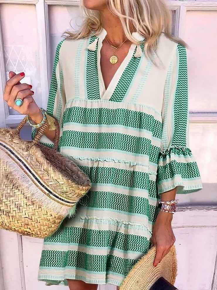 Beach Time Loose Casual Dress