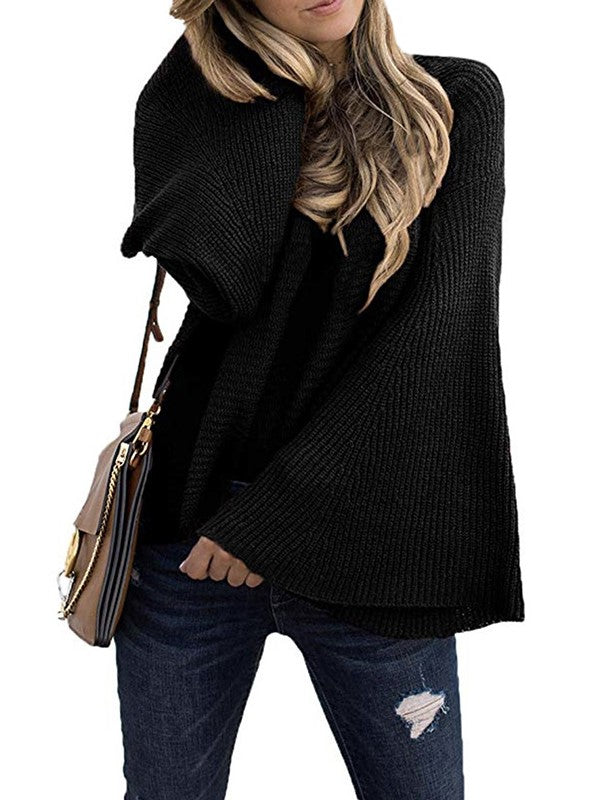Women's Big Horn Sleeves Sweater
