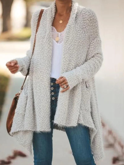 Women Casual Tops Tunic Plus Size Sweater Cardigan