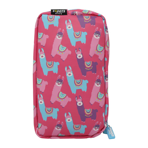 Image of Smily Llama Pencil Case
