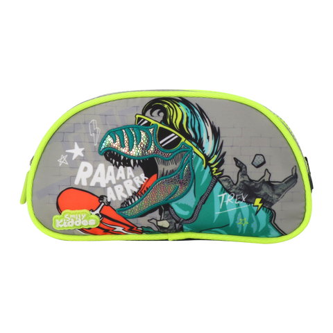Image of Party Dino Single Compartment Pencil Pouch