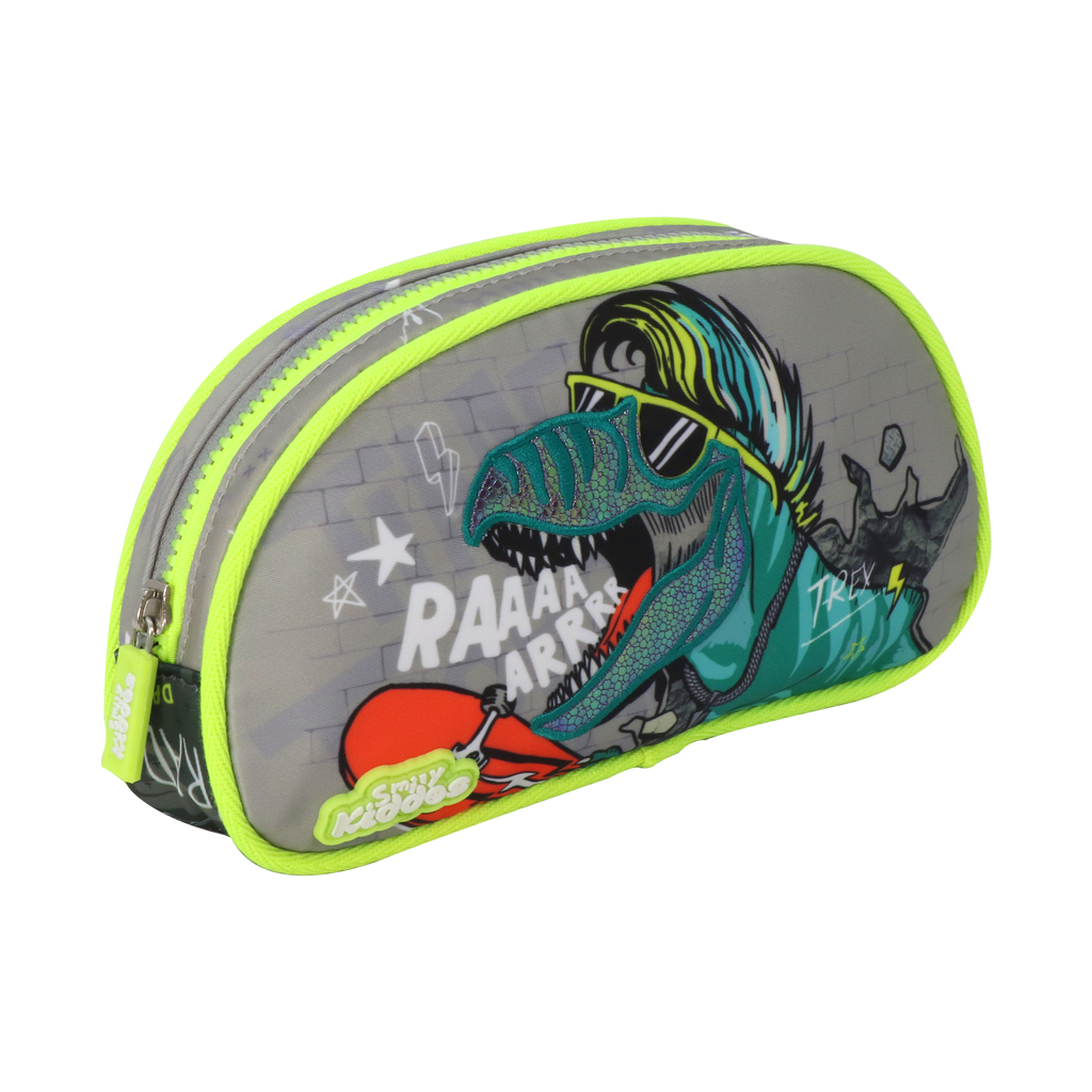 Party Dino Single Compartment Pencil Pouch