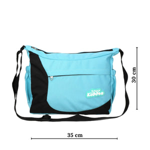 Smily Kiddos Unisex Shoulder Bag- Sea Green