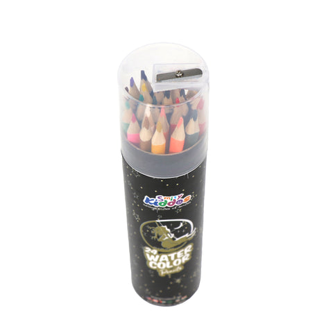 Smily Color Pencils For Girls - (Pack of 24 )