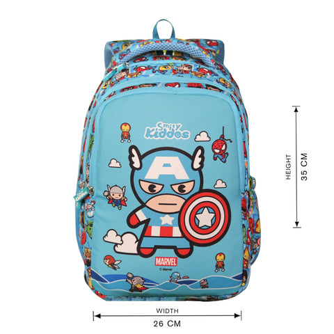 Image of Licensed Marvel Avengers Captain America Junior backpack