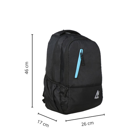 Image of Mike Unisex Laptop Backpack - Black