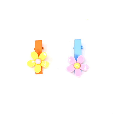 Image of Lovely Floral Hair Clip Set