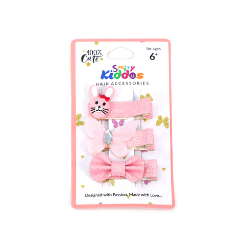 Image of Baby Pink Hair Clip Set