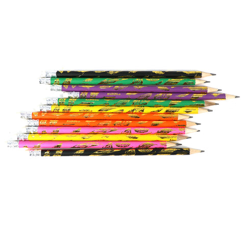 Image of Smily HB Pencils Set For Girls -  (Set of 12 Pencils)