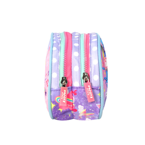 Image of Musical Unicorn Double Compartment Pencil Pouch