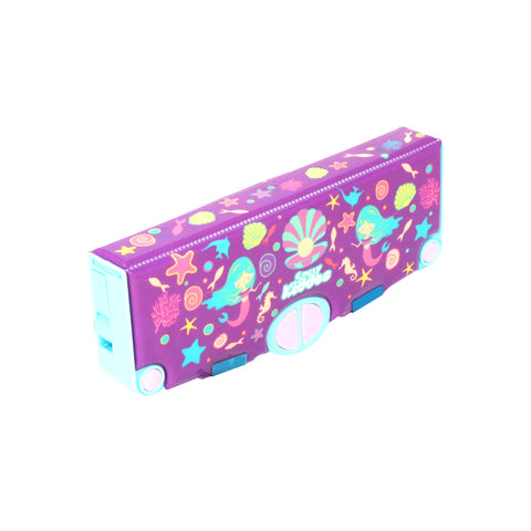 Smily Pop Out Pencil Box-Mermaid Theme
