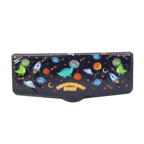 Smily Pop Out Pencil Box-Space Dino Theme