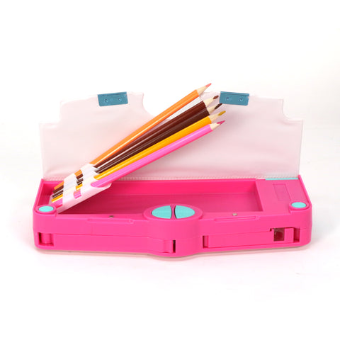 Image of Smily Pop Out Pencil Box-Summer Theme