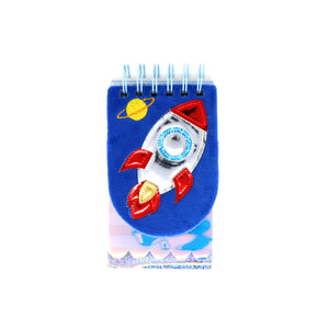 Fancy Rocket Note Book