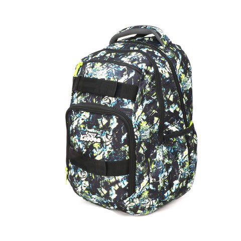 Smily Teen backpack Black & Green