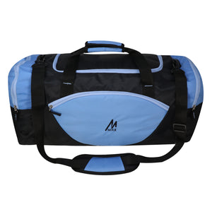 Mike weekender duffel bag - Light Blue & Black