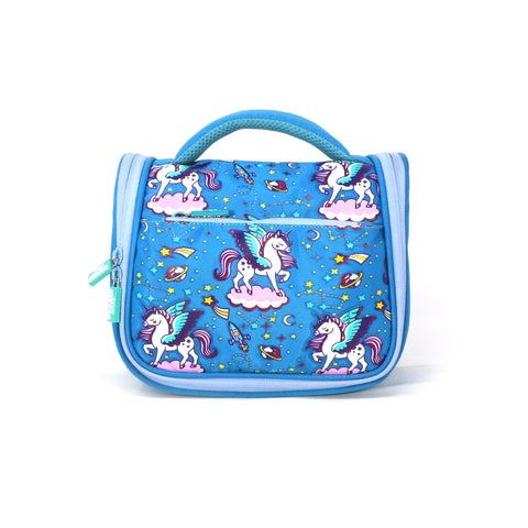 Image of Smily Kiddos Cosmetic Bag - Light Blue