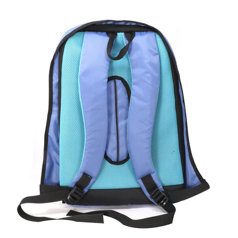 Image of Mike Anti Theft Backpack - Light Blue
