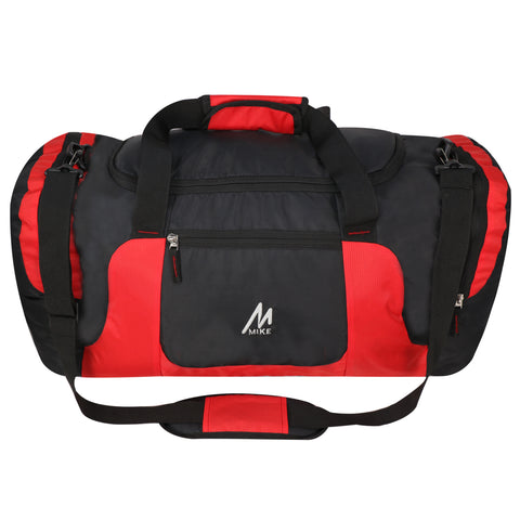 Image of Mike Weekender Duffel Bag - Red & Black