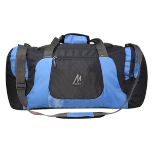 Mike Weekender Duffel Bag - Blue & Black