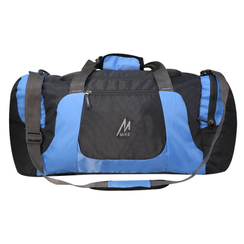 Image of Mike Weekender Duffel Bag - Blue & Black