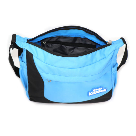 Image of Smily Kiddos Unisex Shoulder Bag- Light Blue