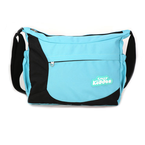 Image of Smily Kiddos Unisex Shoulder Bag- Sea Green