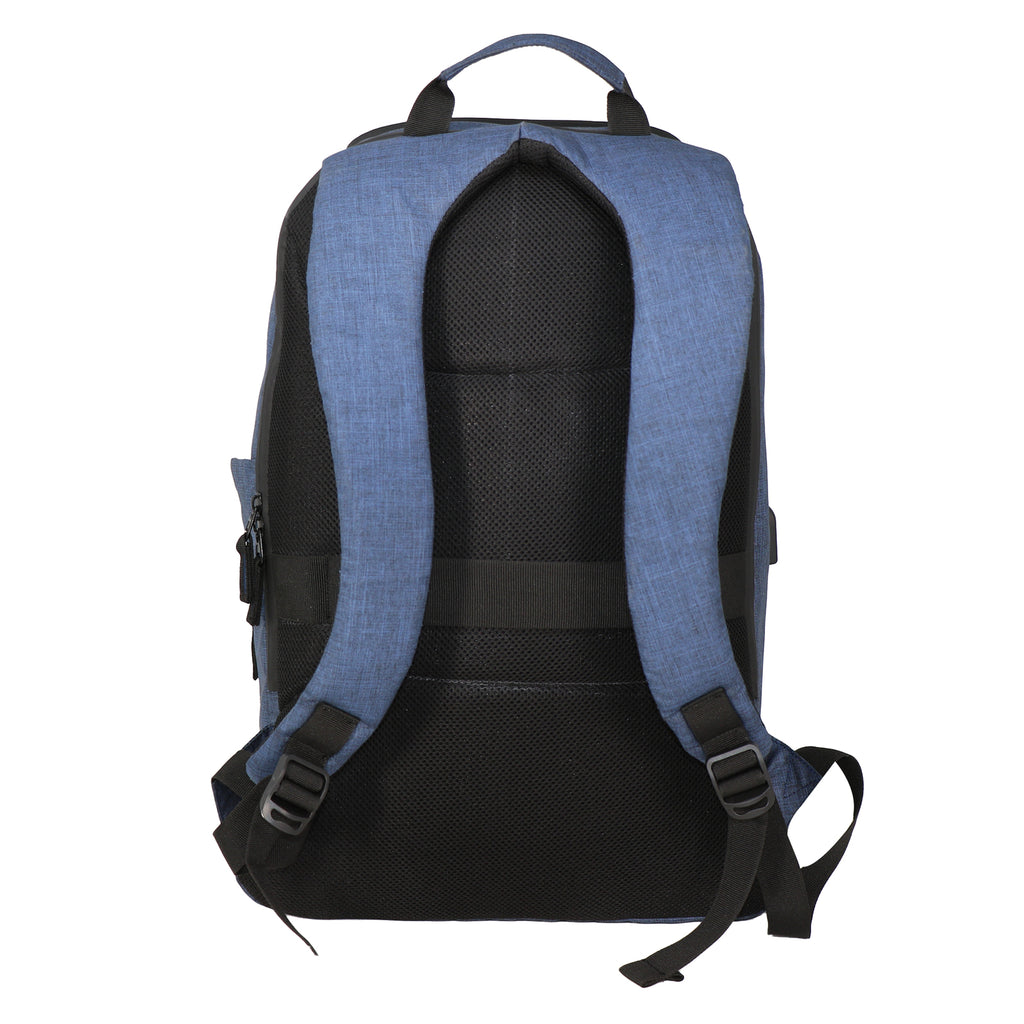 Mike Zeus Laptop Backpack - Blue