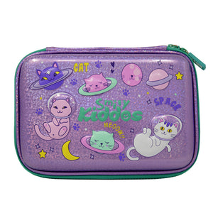 Smily Sparkle Pencil Case Space Kitty