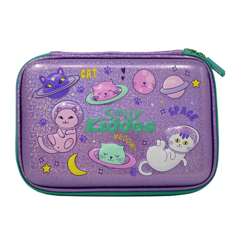 Image of Smily Sparkle Pencil Case Space Kitty