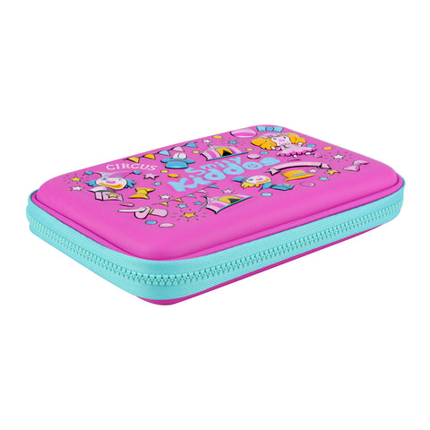 Image of Smily Single Compartment Pencil Case (Pink)