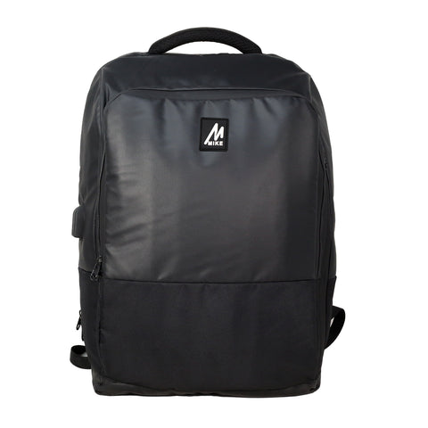 Mike Odyssey Laptop Backpack - Black