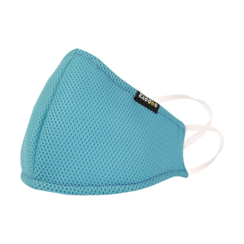 Image of SMILY KIDDOS VALVE FACE MASK LIGHT BLUE ANTI-POLLUTION | ANTI-DUST | ANTI-BACTERIAL MASK