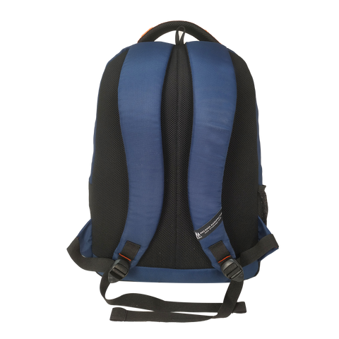 Mike College Backpack - Orange & Blue