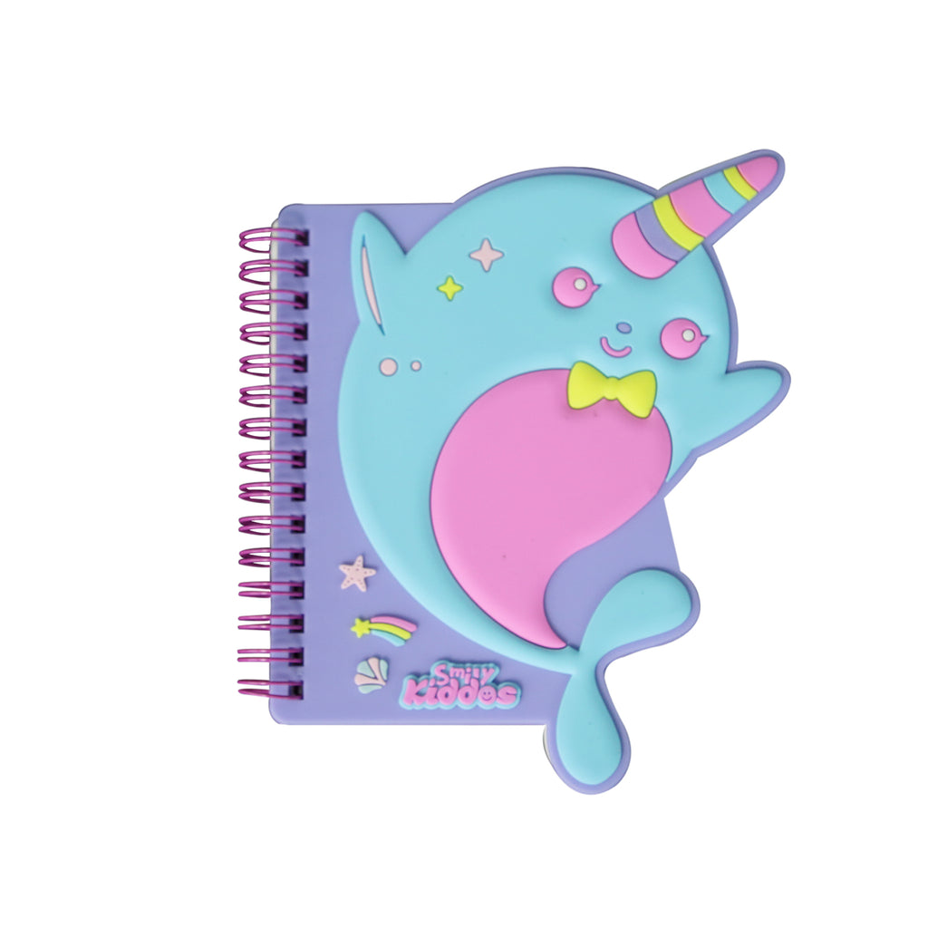 Smily Spiral Dolphin Notebook