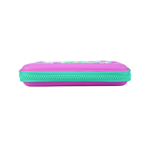 Image of Smily Single Compartment Pencil Case Purple