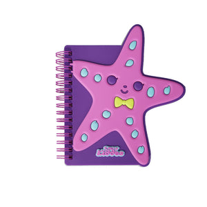 Smily Spiral Starfish Notebook