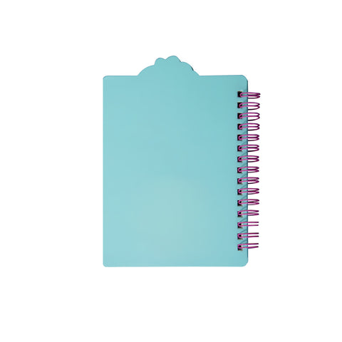 Image of Smily Spiral Seahorse Notebook