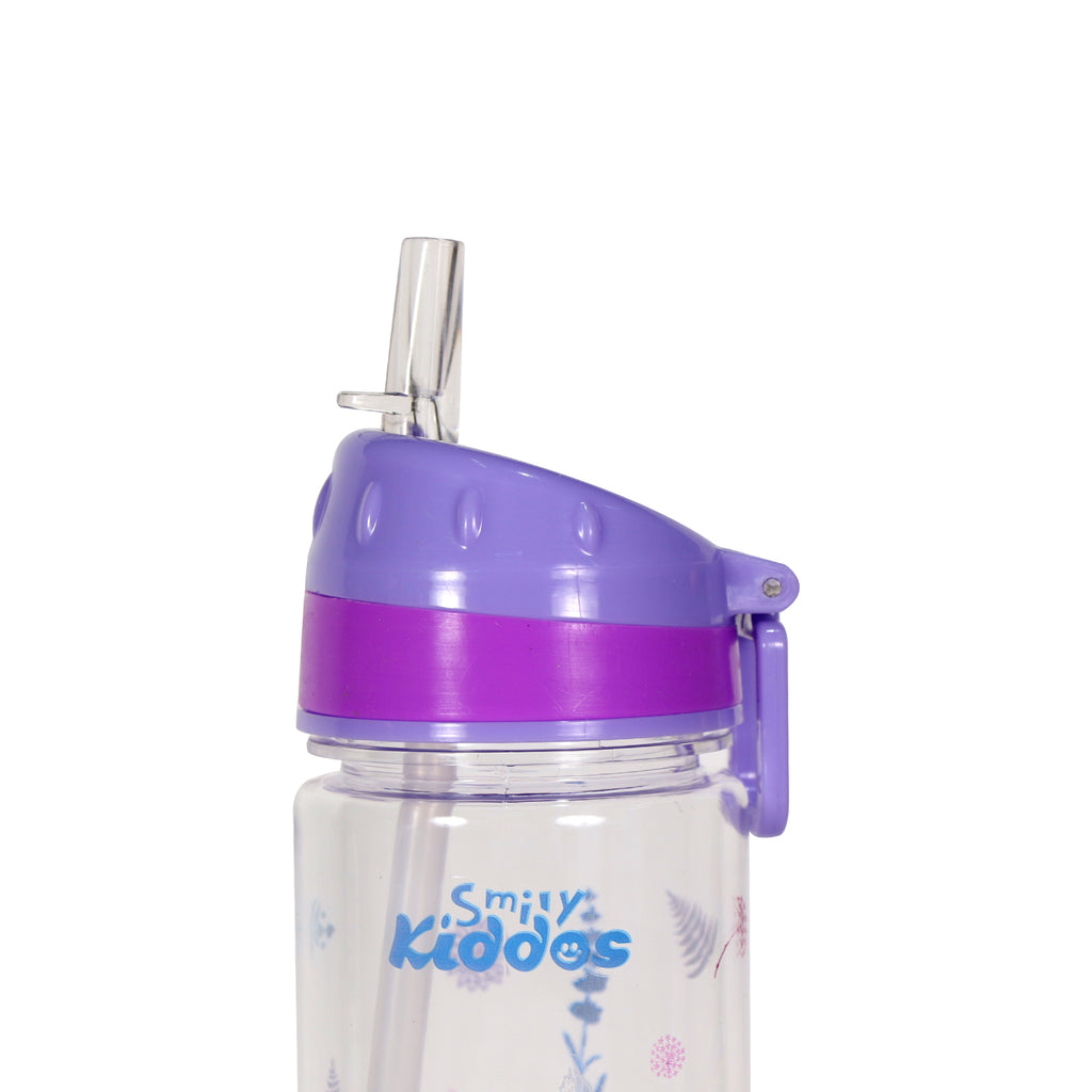 Frozen 2 Elsa Straight Water Bottle Purple