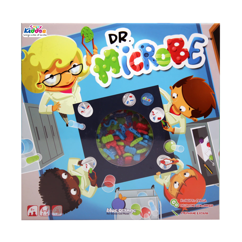 Board Games Combo ( Dr Microbe, Rings Up, Fast Flip )