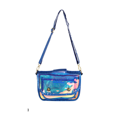 Image of Fancy Transparent Sling Bag