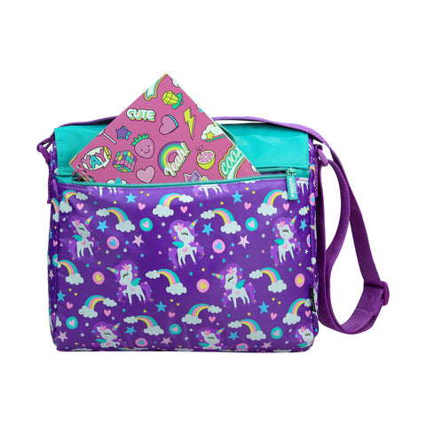 Fancy Shoulder Bag Purple kids bags school bags shoulder bags for girls boys