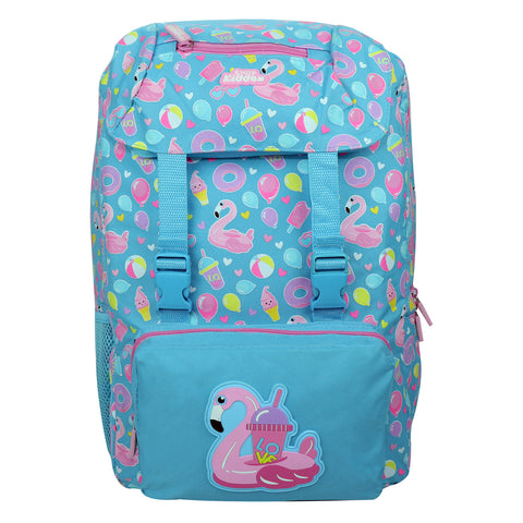 Image of Smily Fancy Backpack Light Blue