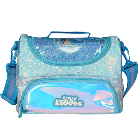 Dual Slot Frozen 2 Elsa Holographic Lunch Bag
