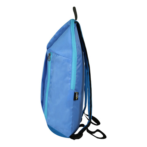 Image of Casual Unisex Backpack Light Blue Color